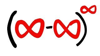 very indeterminate, (infinity-infinity)^infinity