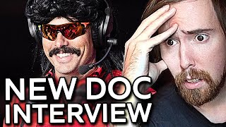 DrDisrespect Is Back! Asmongold Reacts To Doc's Interview: Future After Twitch Ban