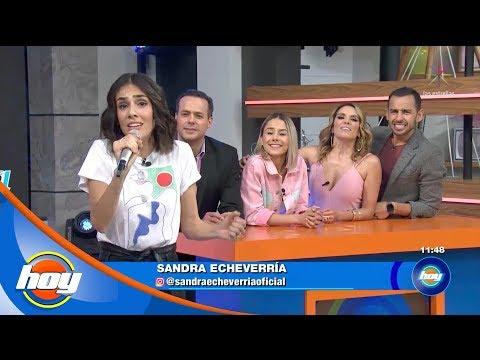 Sandra Echeverría demuestra su talento en Canta la palabra | Hoy