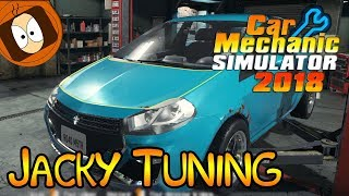 JACKY TUNING DÉBARQUE ! | CAR MECHANIC SIMU 18