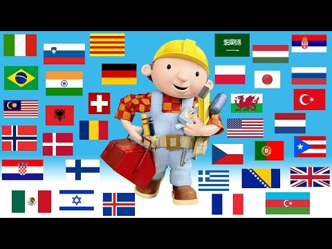 Bob the Builder Theme Song In 34 Different Languages