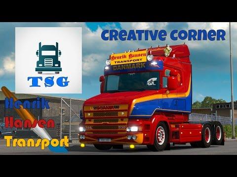 Creative Corner - Henrik Hansen - Scania T 4 Series