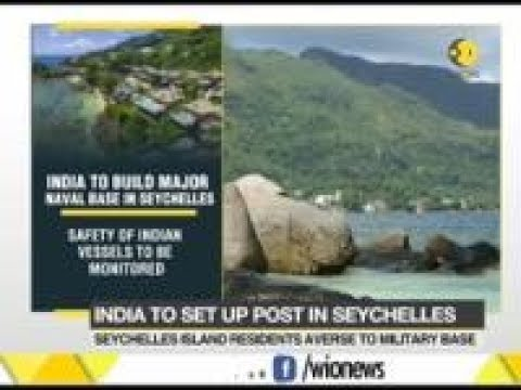 India to build major naval base in Seychelles