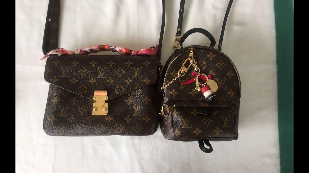 Lv Pochette Metis Amp Palmspings Mini Backpack Comparison
