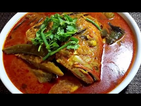 FISH HEAD CURRY / KARI KEPALA IKAN