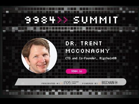Dr. Trent McConaghy, BigchainDB | Data, AI & Tokens