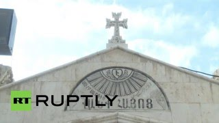 Syria: Orthodox Armenians hold Christmas Eve mass in Damascus