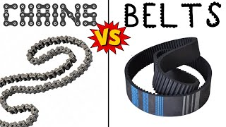 TIMING CHAINS vs. BELTS - Differences, Evolution, History and more