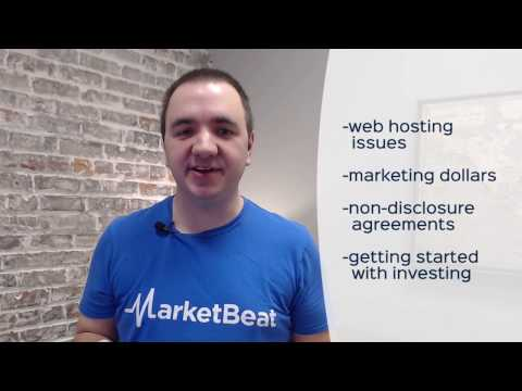 Startup Q&A #10: Web Hosting Issues, Marketing, NDAs, Getting Started with Investing