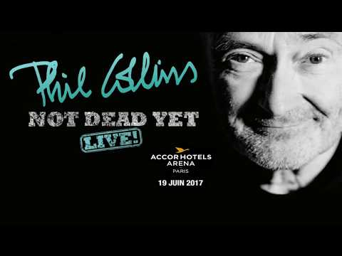 "Phil collins ""Not Dead Yet live"" full @ Accor Hotel Arena Paris 19 juin 2017"