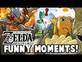 WHY YOU SHOULD NEVER BREAK AN EGG IN RITO VILLAGE! - (Zelda: Breath Of The Wild Funny Moments)