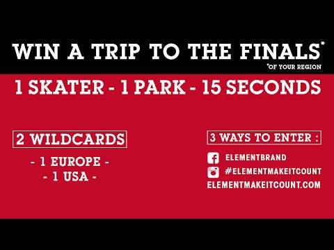 Element Make It Count 2015 - Wildcard