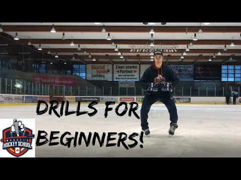 Ice Skating Drills for Beginners