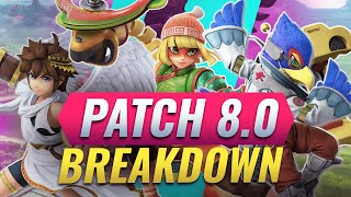 Version 8.0.0 Patch Notes for Smash Ultimate