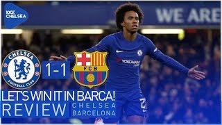 CHELSEA 1-1 BARCELONA || WE