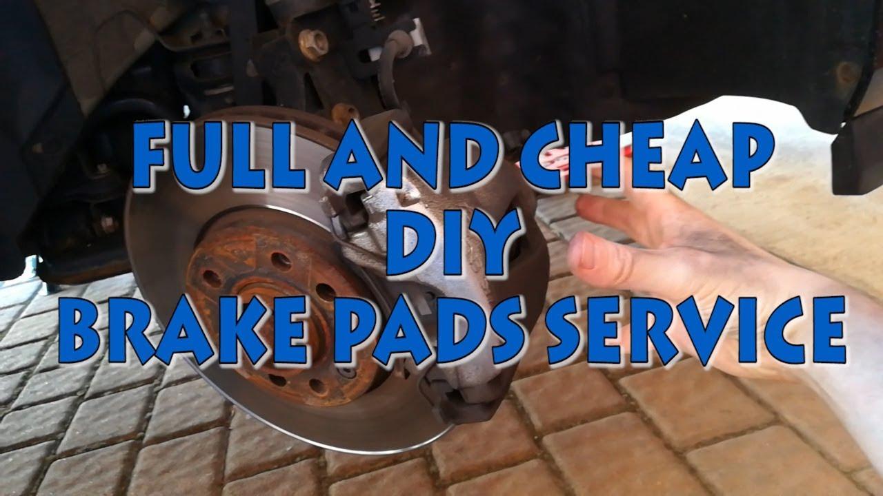 Cheap Brake Service >> Opel Vauxhall Saturn Astra H Full And Cheap Brake Pads Service Youtube