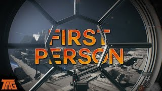 Star Wars Battlefront 2 - FIRST PERSON ONLY STARFIGHTERS!