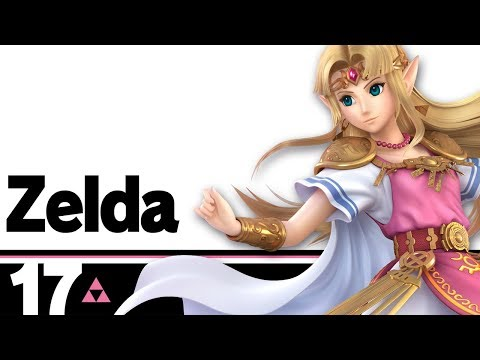 The Ultimate Super Smash Bros  Character Guide: Zelda - Geek com