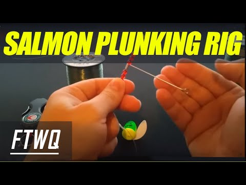 Salmon Plunking Rig: How To Plunk For Salmon. Oregon Salmon Fishing Setup