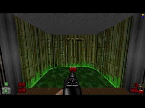 My first time on Brutal Doom - Hell on Earth M3E1 - Water Treatment Plant