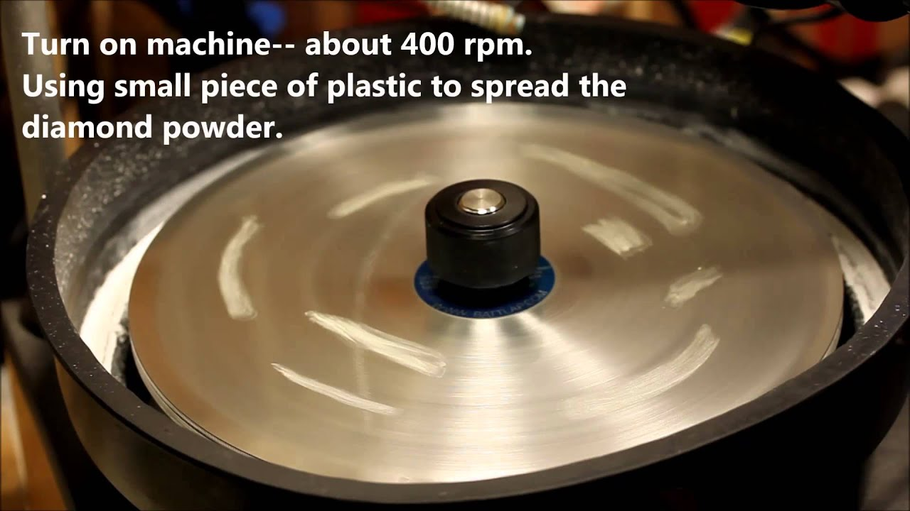 Let us show you around a faceting machine by Gem Rock Auctions