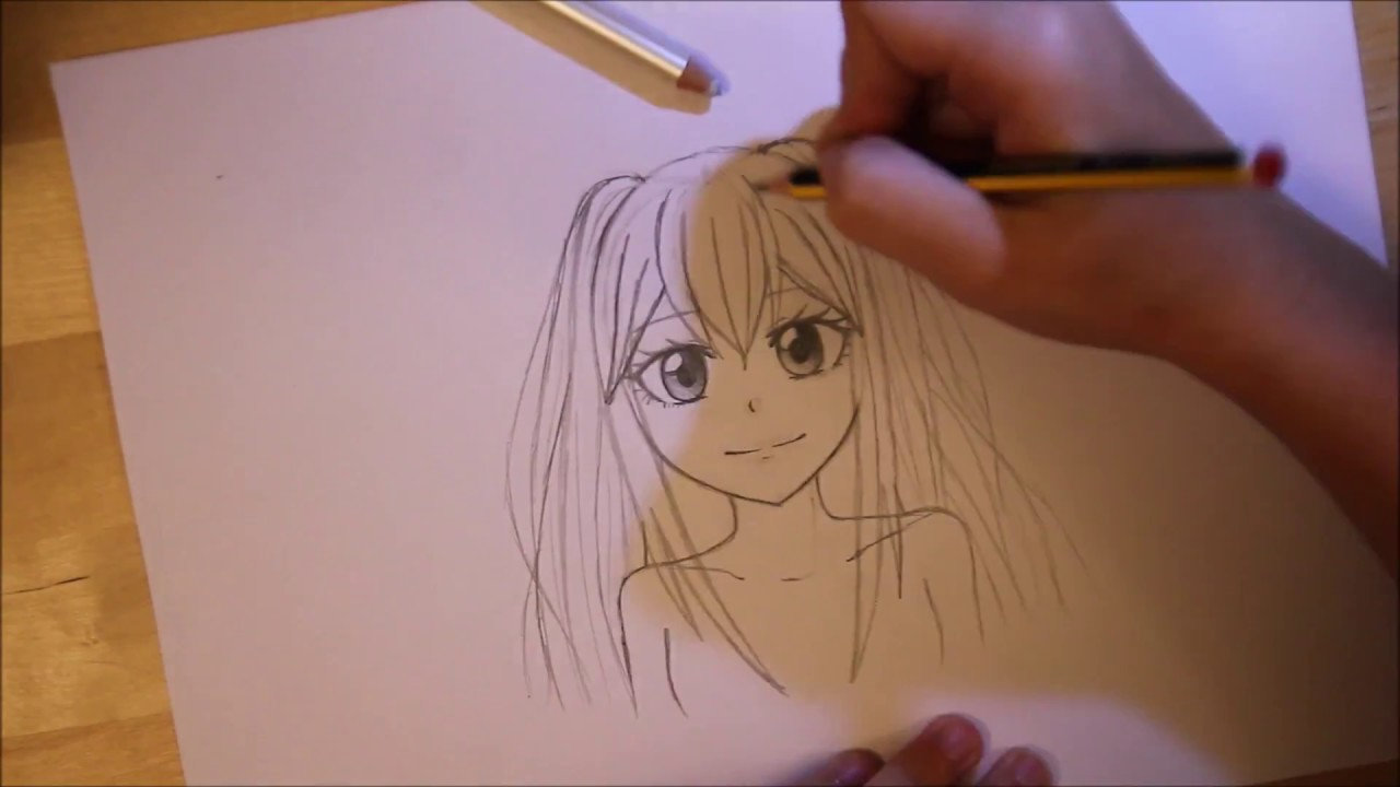 Comment Dessiner Des Couettes Sur Un Manga Cour 2 Youtube