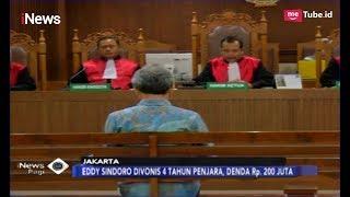 Download Video Terima Putusan Hakim, Eddy Sindoro Divonis 4 Tahun Penjara dan Denda Rp200 Juta - iNews Pagi 07/03 MP3 3GP MP4