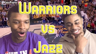 SWEEP CONFIRMED!! WARRIORS VS JAZZ GAME 4 2017 NBA FULL HIGHLIGHTS AND REACTION!