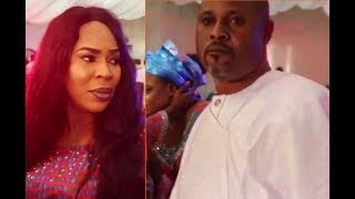At Last Fathia  Saidi Balogun Are Back TogetherHug Talk In Public For The 1st Time In 10 Years