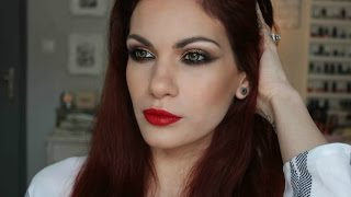 Get Ready With Me: New Year's Eve Make-up Τutorial Thumbnail