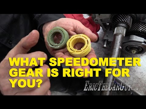 What Speedometer Gear Is Right For You? -EricTheCarGuy