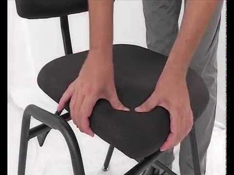 Ergonomic Orchestra Chair With Adjustable Seat U0026 Backrest   Ref. SLL 01    YouTube