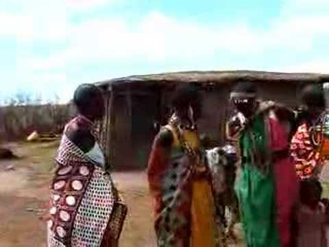 African Women singing