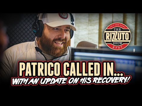 PATRICO called in to update everyone on his recovery after SURGERY! [Rizzuto Show]