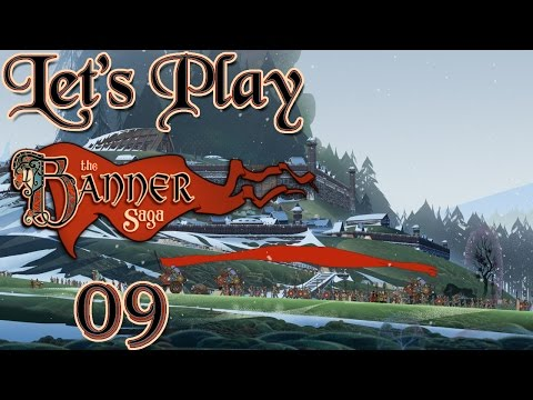 Let's Play The Banner Saga, Blind! [Ep 9] - To Frostvellr (Live Commentary, First Playthrough) |