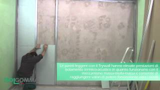 TRYWALL: rivestimento parete esistente
