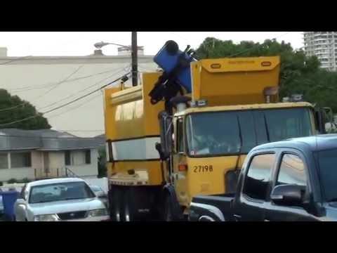 Hawaii Autocar ACX Mcneilus Autoreach on Recycle #27198