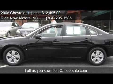 2008 chevrolet impala lt sedan 4d for sale in charlotte
