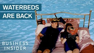 Waterbeds Used To Be A $2 Billion Industry — What Happened?