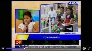 LYCA GAIRANOD IN MORNINGS @ ANC