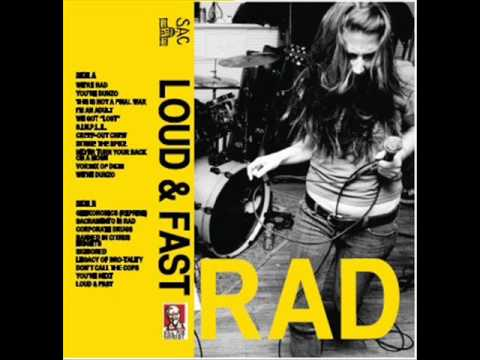 RAD - Victim in Pain (Agnostic Front Cover)
