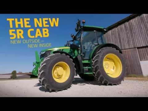 John Deere 5R Nova kabina 2016