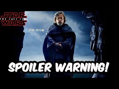 Huge Potential Spoilers! The Last Jedi Rumor Mill #3 - Star Wars