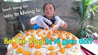 Con trai bà Tân Vlog lên tiếng khi bị tố gian dối trong clip làm bánh bông lan siêu to khổng lồ