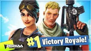 THE START OF MANY WINS! (Fortnite: Battle Royale)