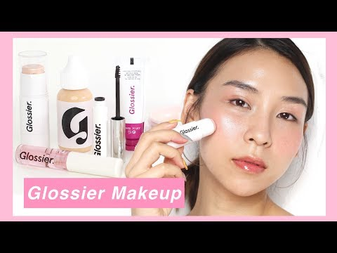 Full Face of Glossier Makeup - TINA TRIES IT thumbnail
