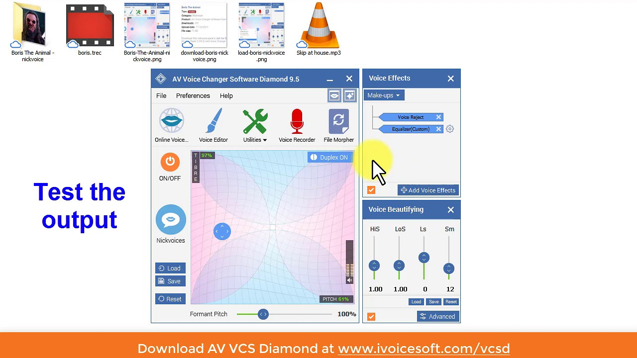 Real-time Voice Changer Software