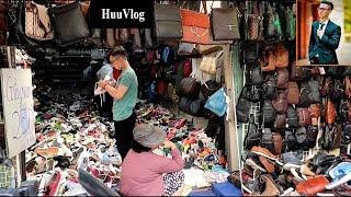 Dạo Chợ Đồ Si Giá Rẻ Kinh Hồn Và Cái Kết | Dấu Chân Sài Gòn | SaiGon Foot