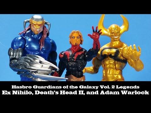 Hasbro Marvel Legends Guardians of The Galaxy 2 MARVEL/'S DEATH/'s HEAD II