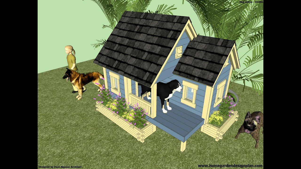 How to build an Insulated Dog House Dog House Plans Dog House